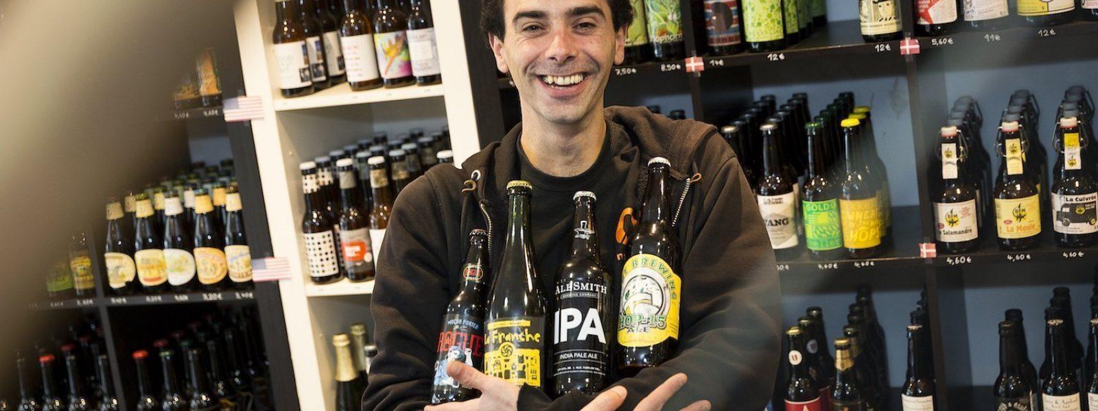 Chez Alain, cave à bières