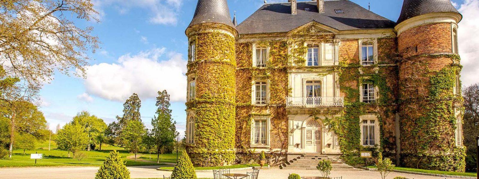 Le Château d'Apigné, hôtel 5 étoiles près de Rennes