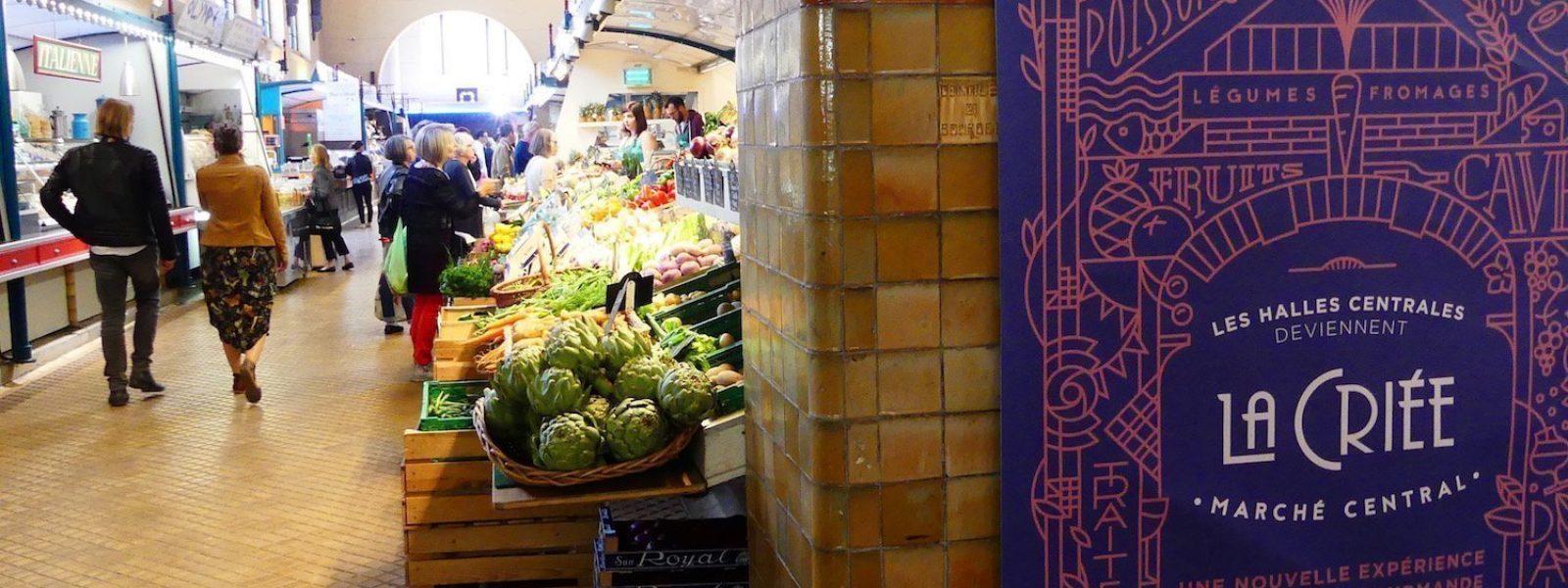 La criée, marché couvert à Rennes