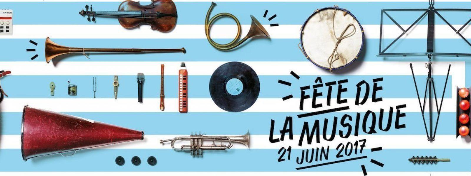 Programme de la fête de la musique 2017 à Rennes en Bretagne