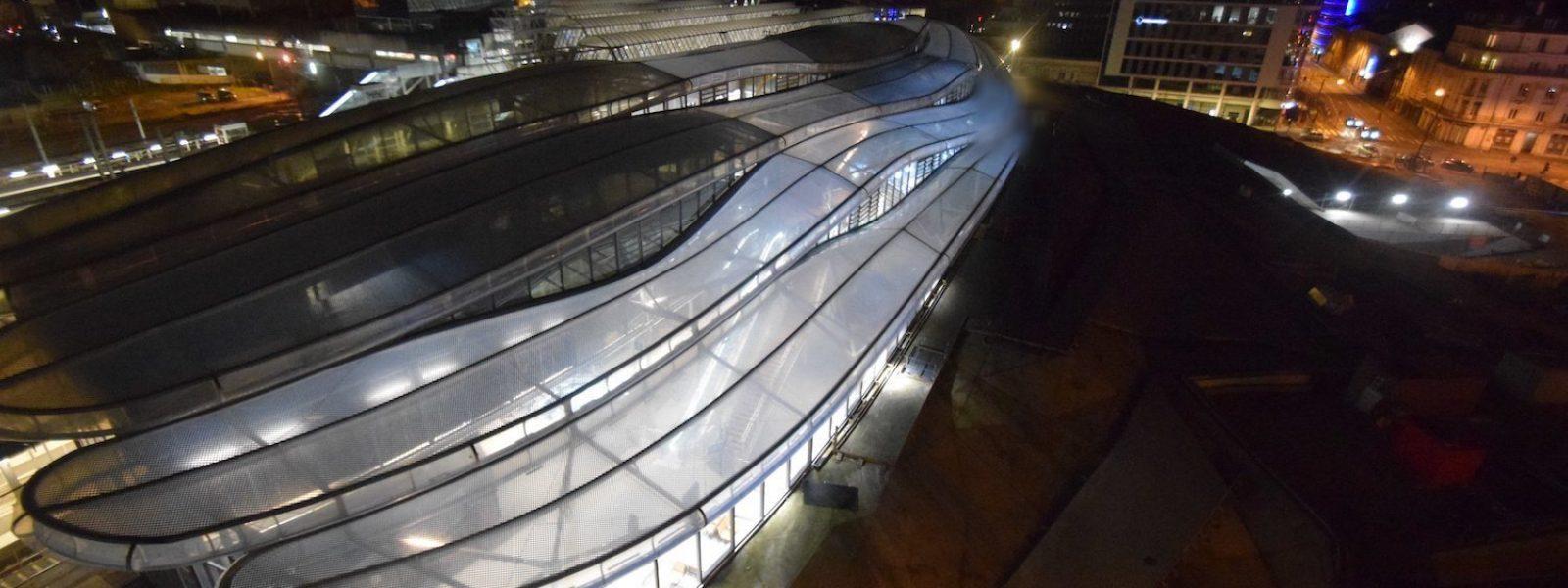 La nouvelle gare de Rennes, porte d'entrée de la Bretagne