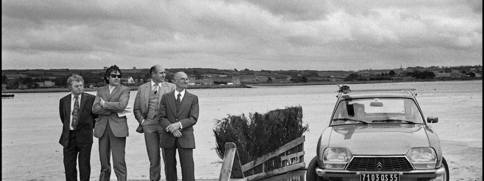 Baie de Kernic, Plouescat, Finistère Nord, France, 5 août 1973