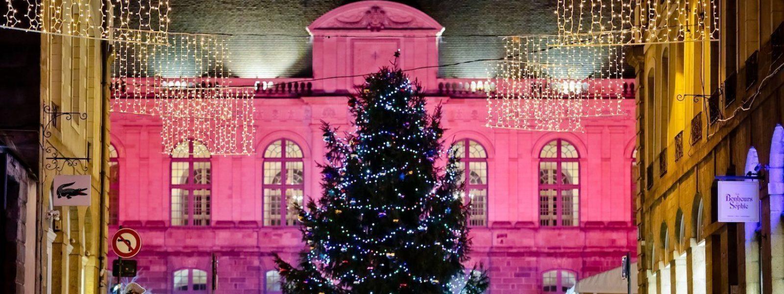 Illuminations à Rennes pour la fin d'année