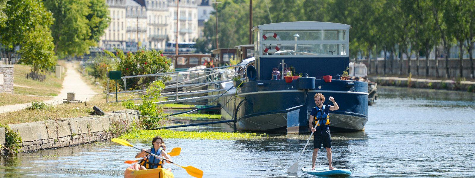 Location de paddle et de kayaks