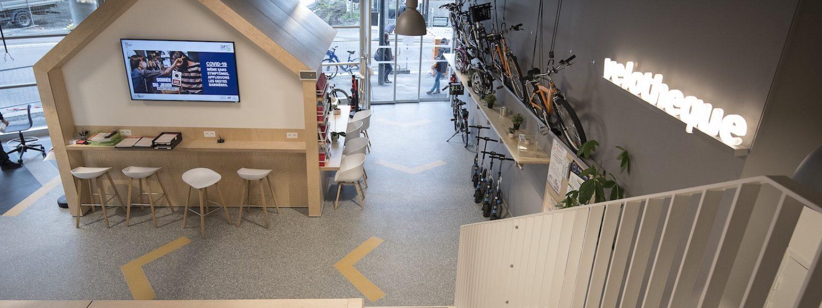 La maison du vélo à Rennes