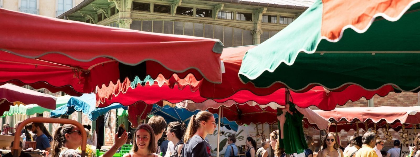 The Lices markets in Rennes