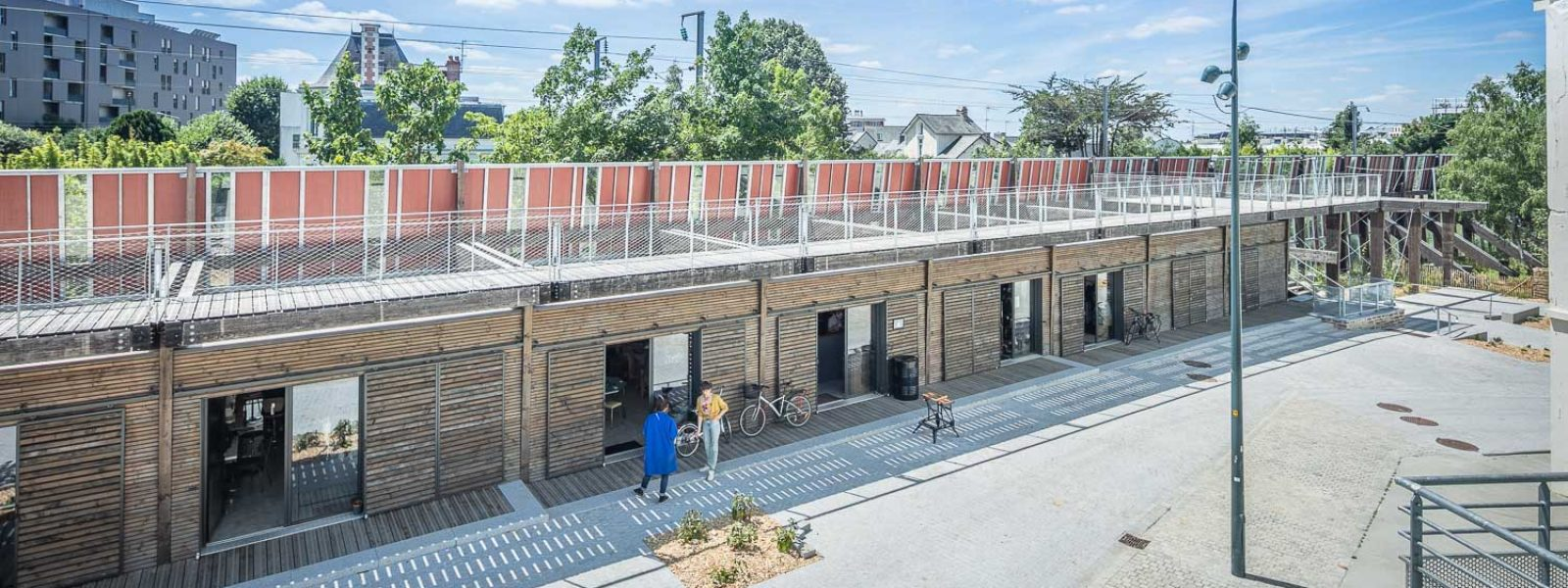 Les ateliers d'artisans du Mur habité à Rennes
