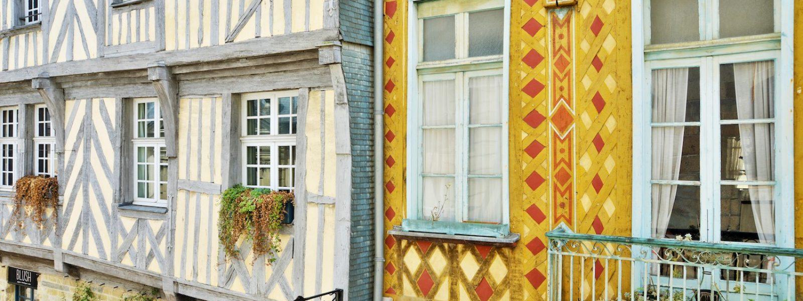 Couleur Façade Maison Ancienne maisons à pans-de-bois, patrimoine emblématique | office de