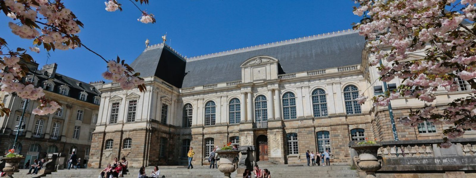 The Parliament of Brittany in Rennes