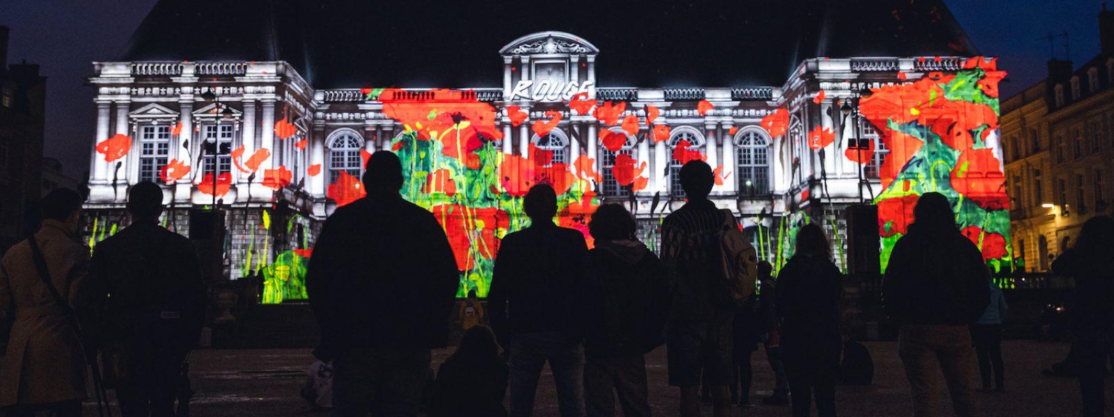 Les projections sur le Parlement de Bretagne