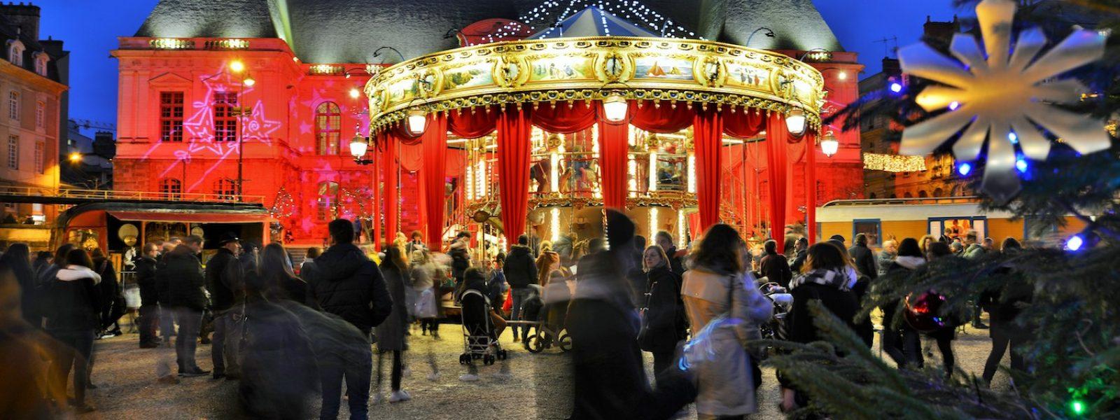 Rennes s'illumine et s'anime