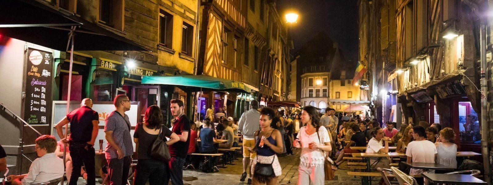 Rue Saint-Michel ou