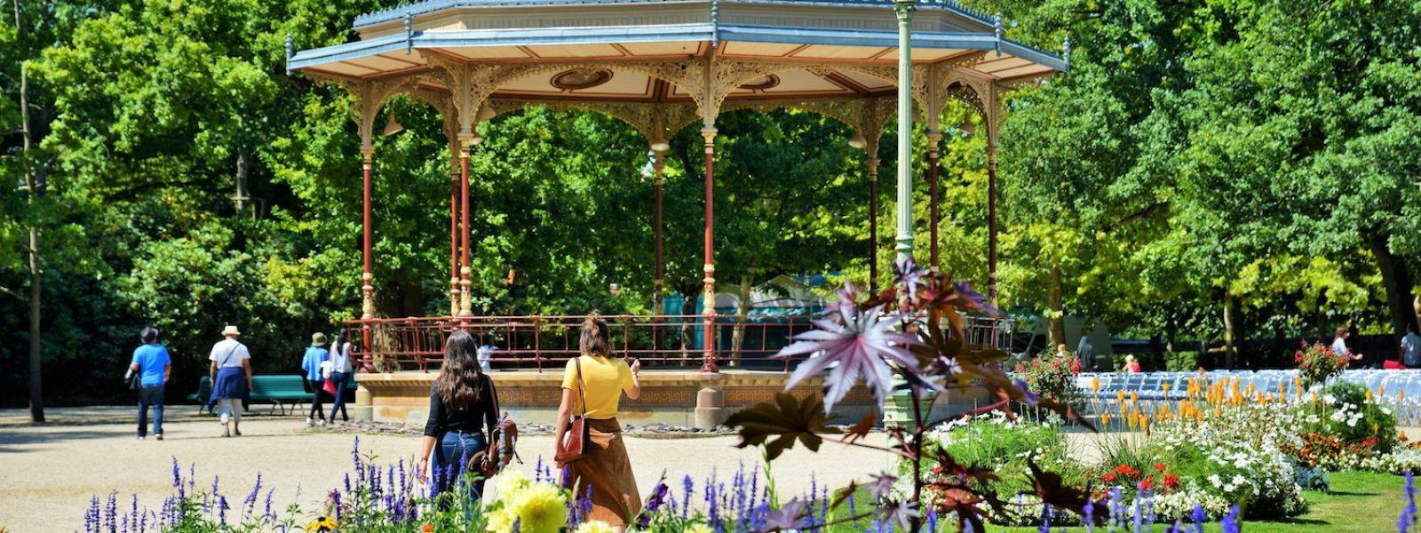 Balade dans le jardin remarquable du Thabor à Rennes