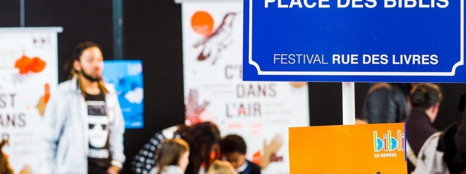Festival Rue des Livres à Rennes