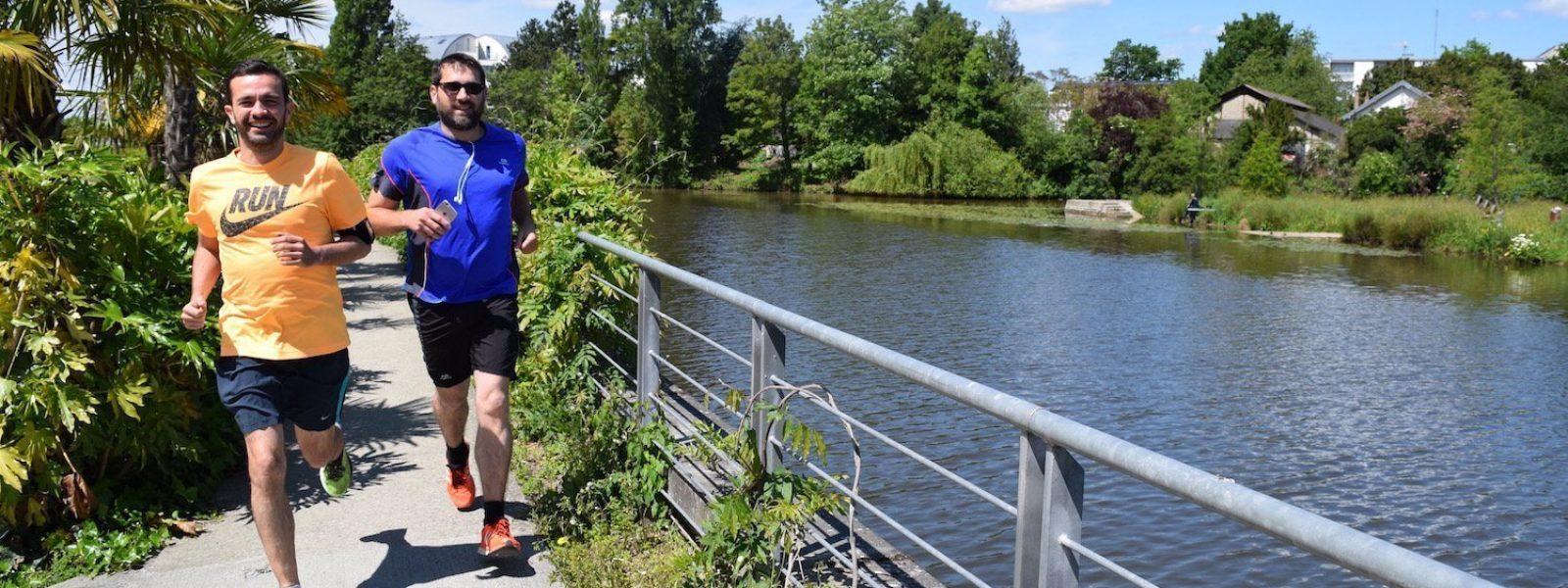 Running in Rennes