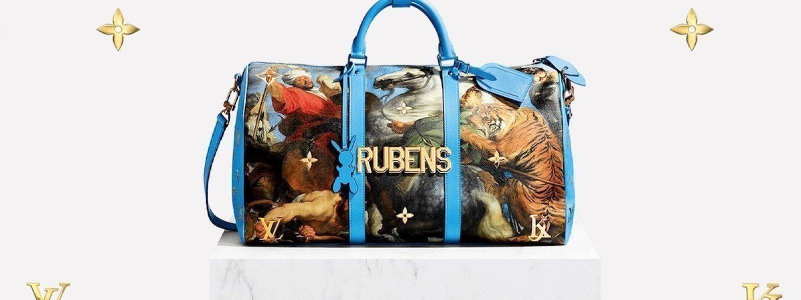 Un tableau du Musée des Beaux-Arts de Rennes sur des sacs Louis Vuitton