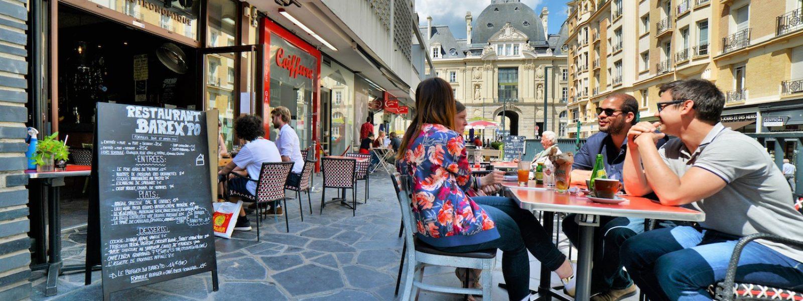 Terrasse barexpo à Rennes