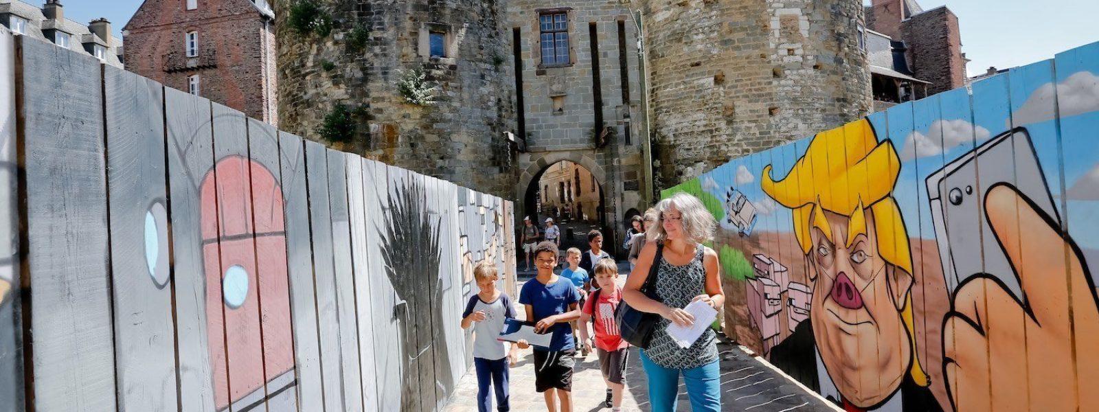 Las puertas mordelaises, símbolo de los duques de bretaña