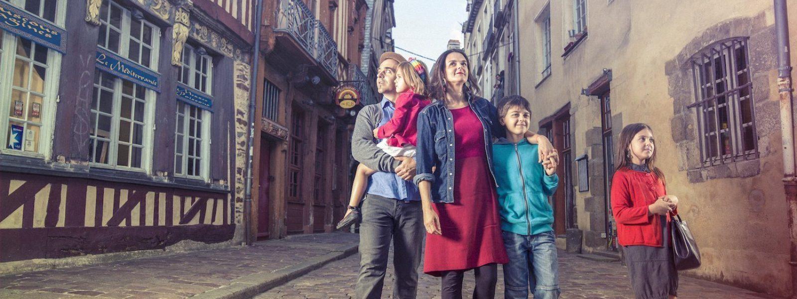 Visite de Rennes en famille