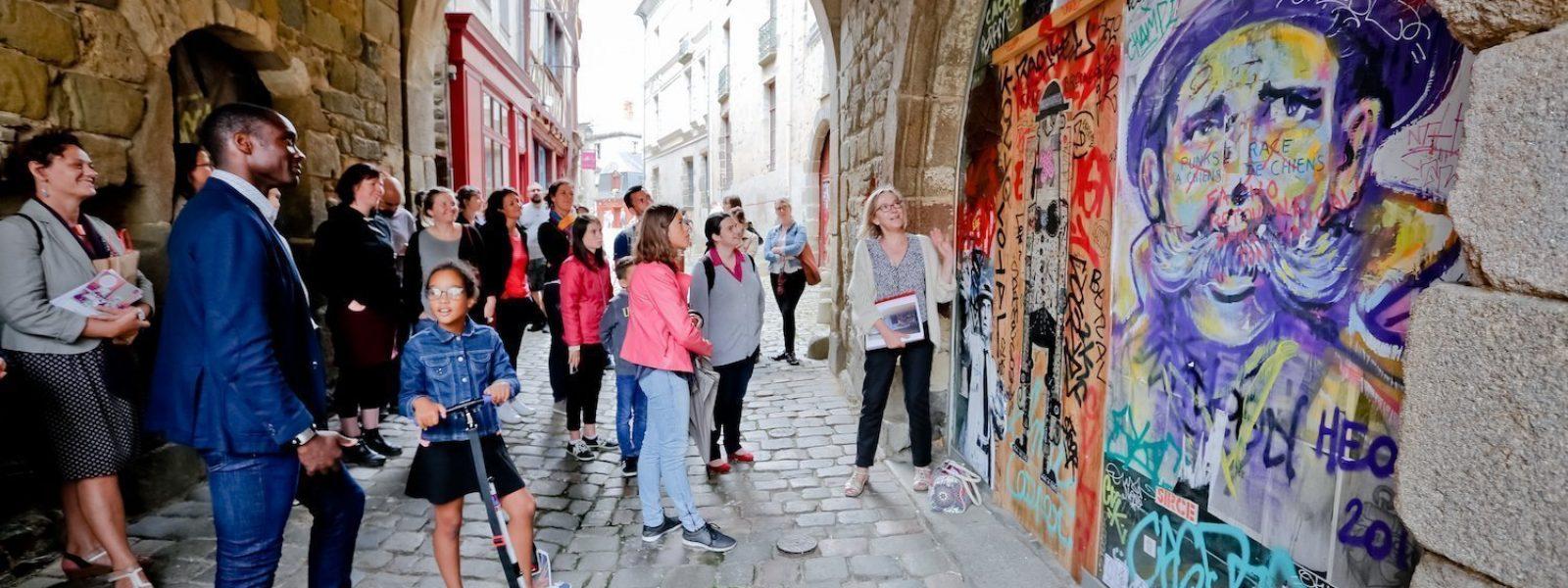 Visite guidée sur le thème du street art