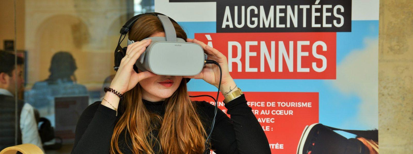 Venez vivre une expérience immersive en réalité virtuelle à Rennes