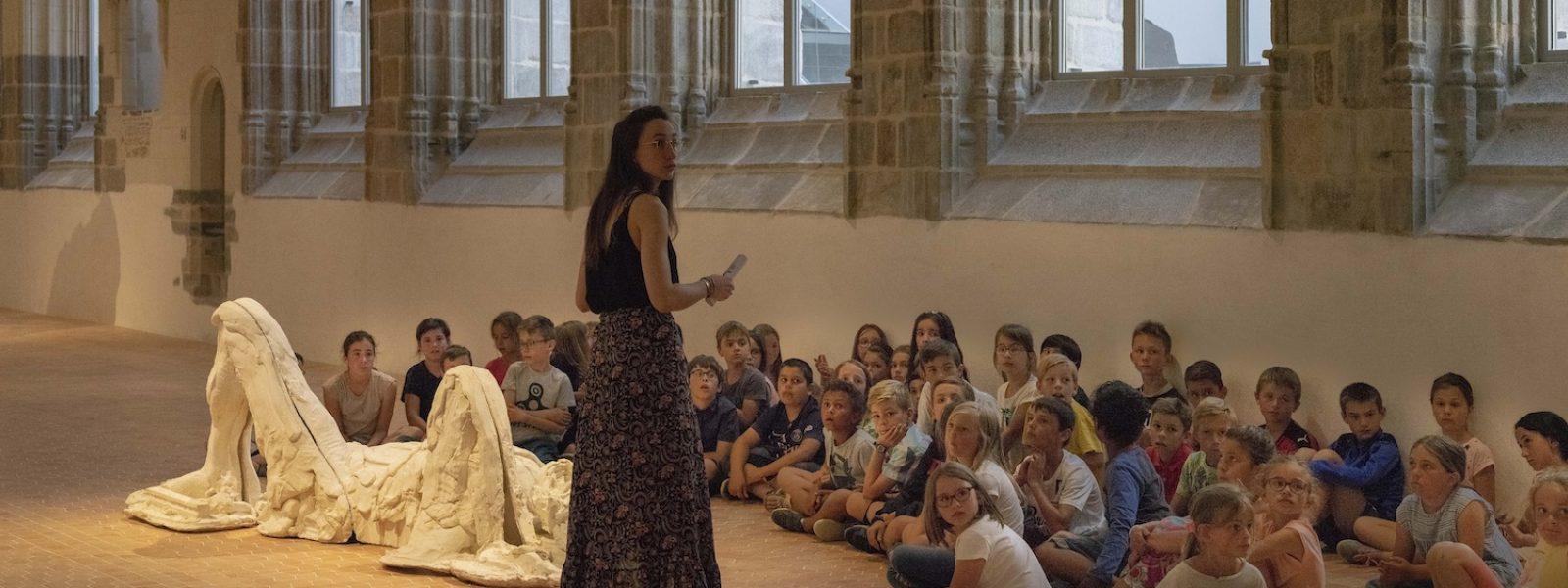 Visite scolaire au Couvent des Jacobins
