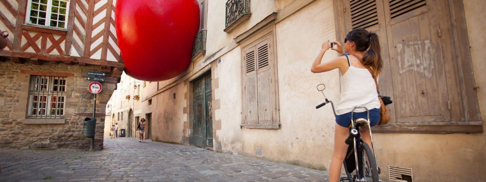 art contemporain dans les rues à Rennes