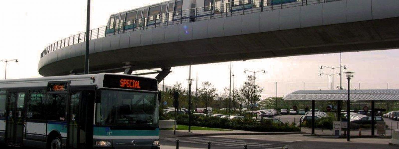 Bus et métro à Rennes