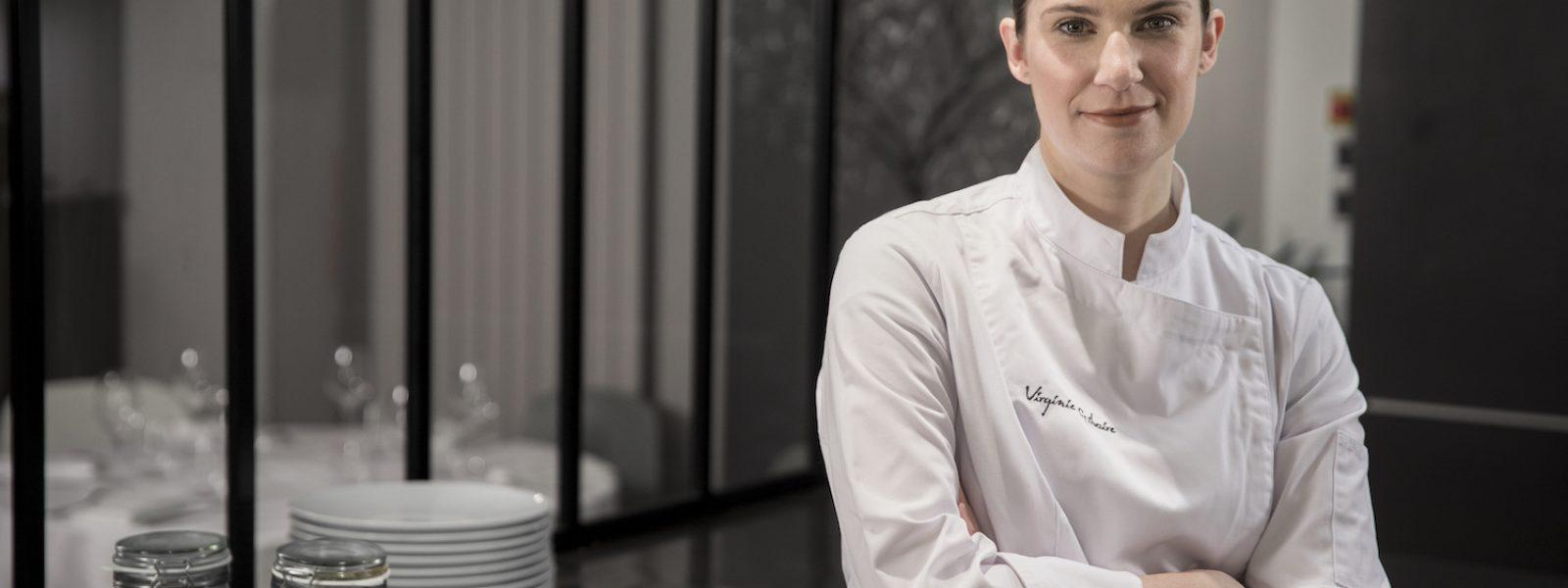 La cheffe rennaise Virginie Giboire