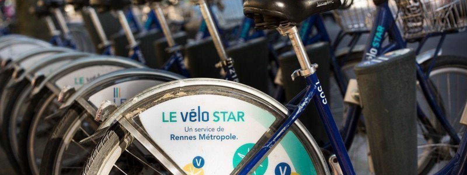 Le vélo star à Rennes