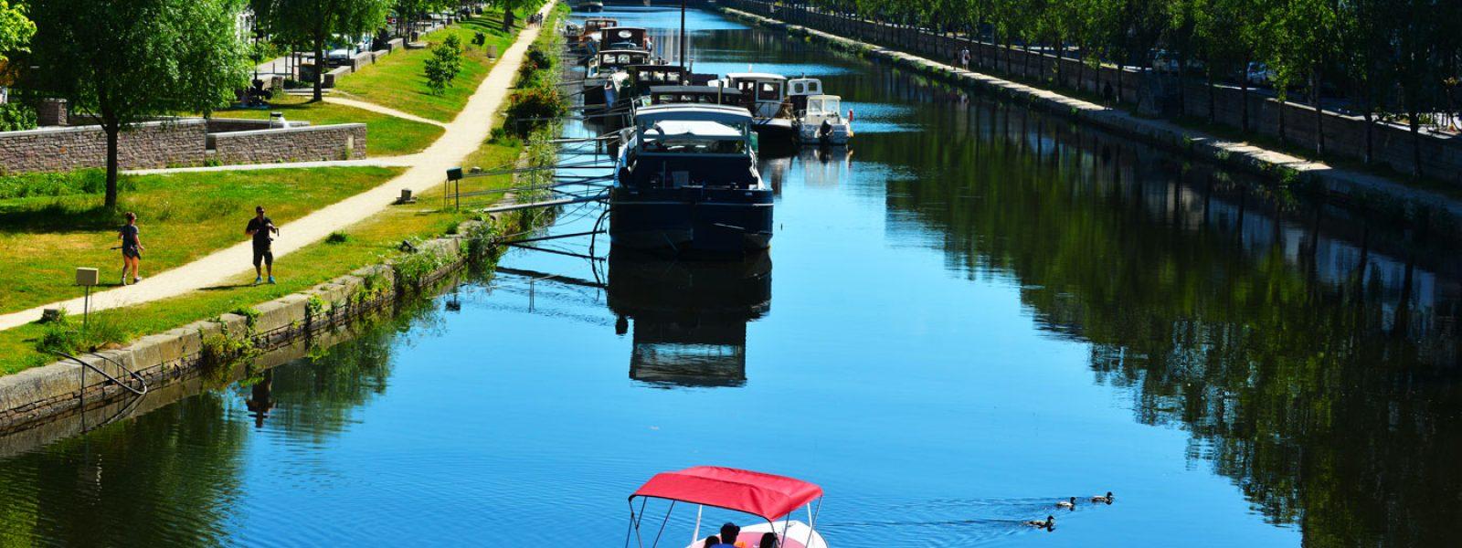 Balade en bateau sur la Vilaine